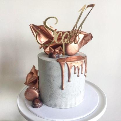 17th Birthday, Concrete and Copper