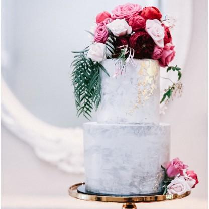 Wedding Cake, Two Tier Concrete